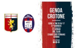 Genoa x Crotone