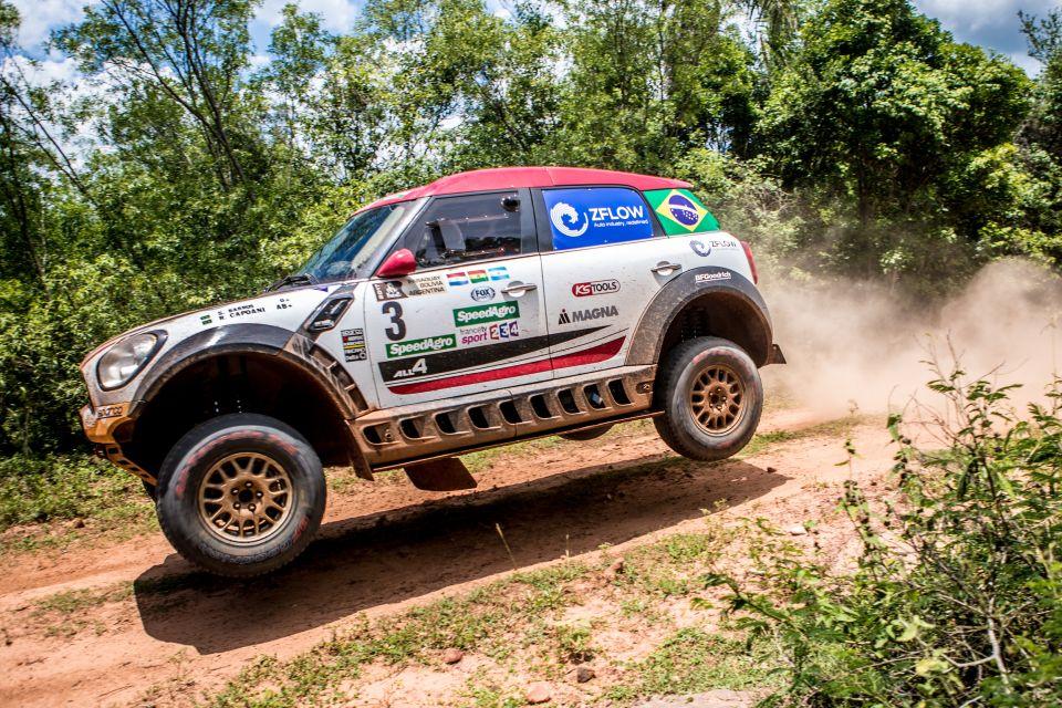 Chamados de última hora, Sylvio de Barros e Rafael Capoani partem para o Dakar pela X-Raid, equipe oficial da Mini. (Foto: divulgação/X-Raid)