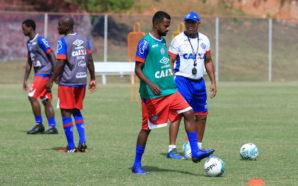 Diego Rosa não se importa em atuar na lateral ou no meio-campo (Foto: Felipe Oliveira/ EC Bahia)