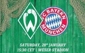 Werder Bremen x Bayern de Munique