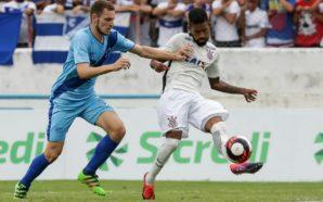 Érik na partida contra o Corinthians pela última rodada da fase de grupos da Copa São Paulo
