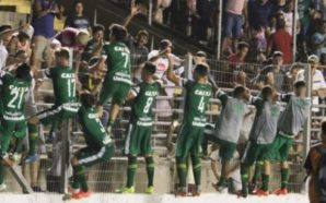 """""""O mundo inteiro está torcendo para a Chape"""", diz Vini, autor de gol da classificação na Copinha"""