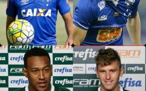 Divulgação/Cruzeiro/Palmeiras