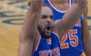 NBA: Esse lance livre de Joakim Noah, do Knicks, é um dos piores dos últimos tempos; essa reação já diz tudo