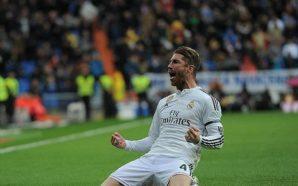 Real Madrid x Málaga sergio ramos
