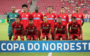 Equipe do Náutico na estreia pela Copa do Nordeste 2017.  Créditos: Léo Lemos/Comunicação Náutico
