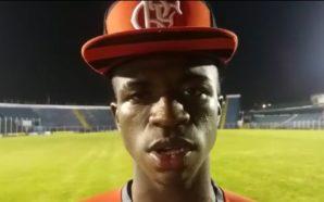 Vinícius Júnior, meia do Flamengo