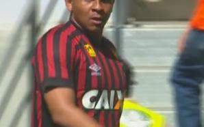 Atleta estava no Atlético-PR. Reprodução SporTV