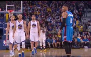Lance bizarro na NBA com Westbrook