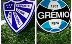 Cruzeiro-RS x Grêmio AO VIVO
