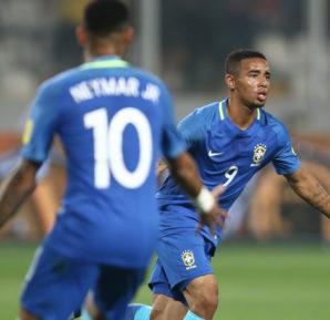Gabriel Jesus e Neymar