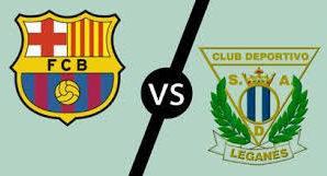 Barcelona x Leganés