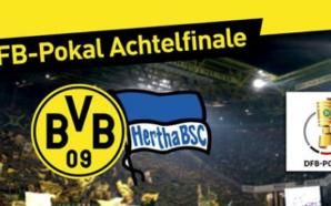Borussia Dortmund x Hertha Berlim