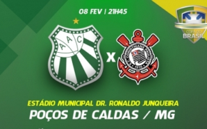 Caldense x Corinthians