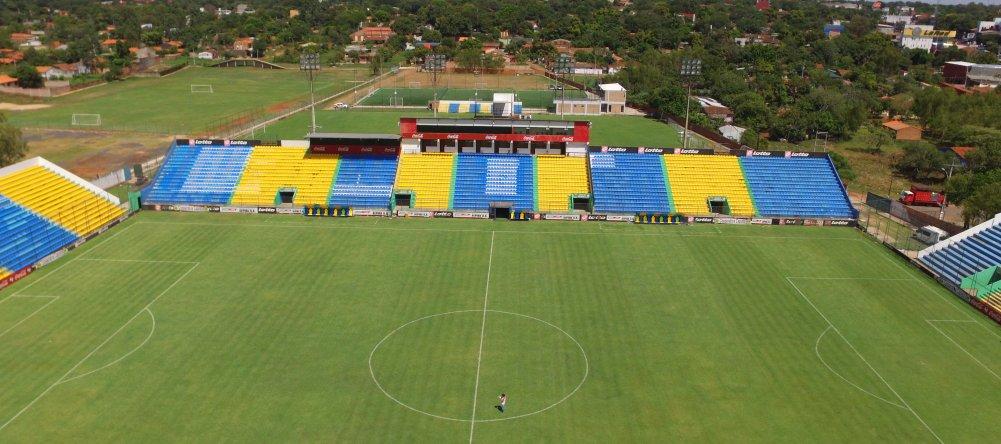 Visão superior do estádio Erico Galeano Foto: Fabian Fleitas/Last Minute