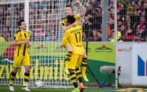 Freiburg 0 x 3 Borussia Dortmund