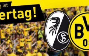 Freiburg x Borussia Dortmund