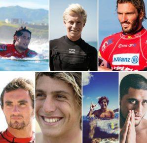 Dois australianos, um português, um francês, um italiano, um brasileiro e um havaiano serão os rookies de 2017.