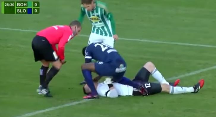 VÍDEO: antigo jogador do Olhanense salvou a vida a adversário