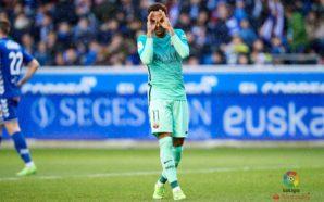 Alavés 0 x 6 Barcelona gols Neymar