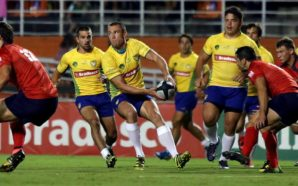 Brasil enfrentou o Chile no Americas Rugby Championship. (Foto: Divulgação/ Brasil Rugby/ Facebook)