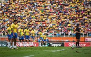 Brasil em ação no Pacaembu contra o Chile em 2016. (Foto:: João Neto/Fotojump)