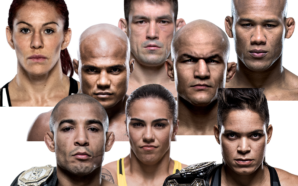 Arte a partir de imagens do site do UFC