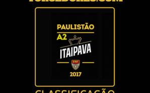 Classificação Paulistão Série A-2