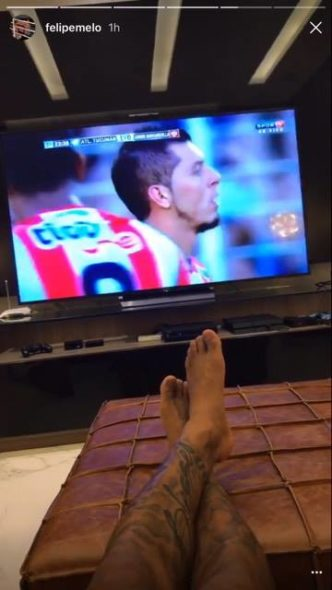 Felipe Melo revelou torcida pelo Atlético Tucumán para cair no grupo do Palmeiras na Libertadores