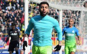 Gabigol precisa de menos minutos em campo que Gabriel Jesus para fazer primeiro gol na Europa