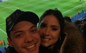 """Presente em PSG 4 x 0 Barcelona, Wesley Safadão """"corneta"""" Messi em rede social; veja"""