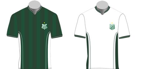 Modelo das camisas usadas pelo clube Foto: Reprodução/Site oficial do UEC