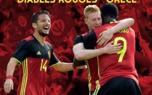 Bélgica x Grécia