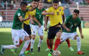 Colômbia x Bolívia