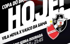 Vila Nova-GO x Vasco
