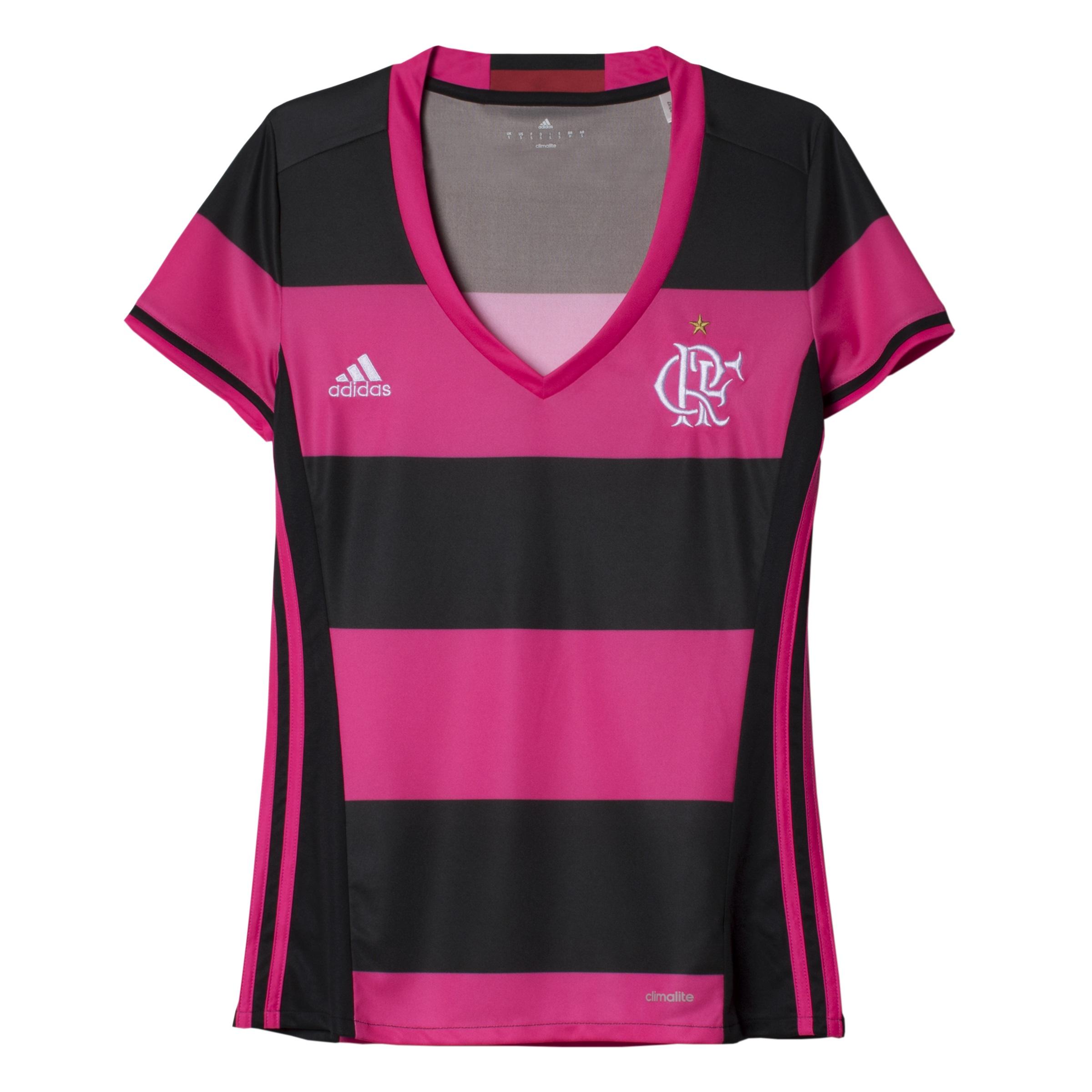ef1183fd72 Flamengo e Adidas divulgam camisa especial para as mulheres