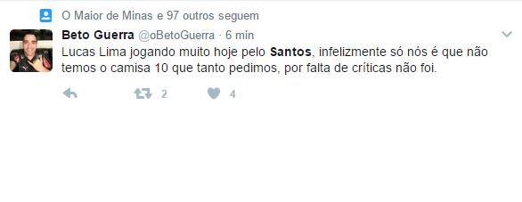 Twitter santos