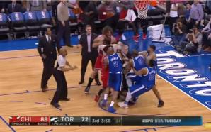 NBA: lance termina em troca de socos entre Brook Lopez e Serge Ibaka e os dois são expulsos