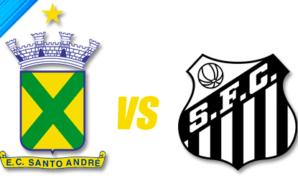 Santo André x Santos