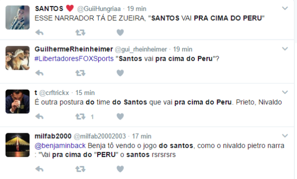 twitter santos 5