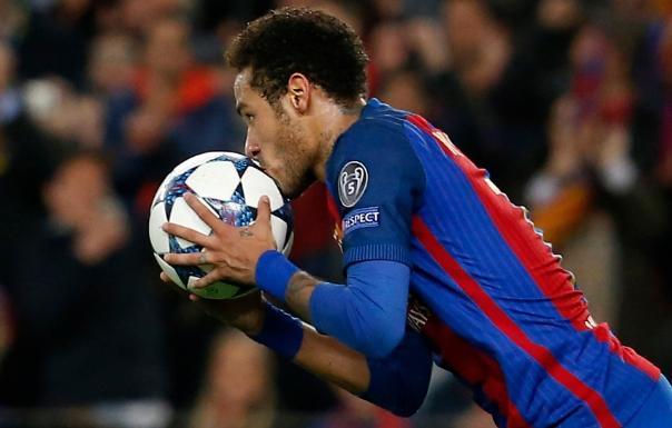 Neymar confia em mais uma reviravolta do Barcelona