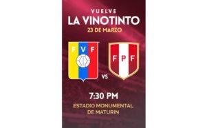 Divulgação: Site oficial / Federação Venezuelana de Futebol