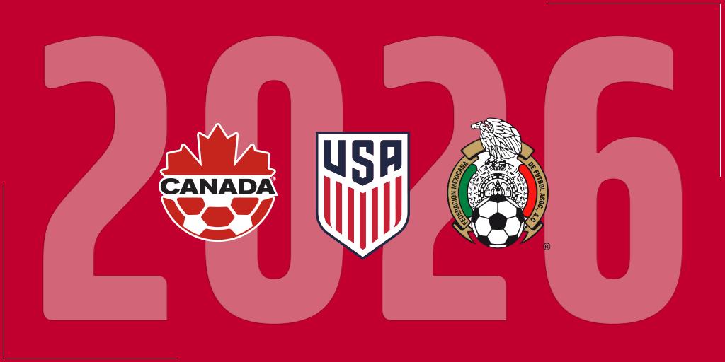 EUA, Canadá e México devem apresentar candidatura única para Copa nesta segunda