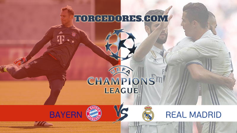 gols Bayern x Real Madrid