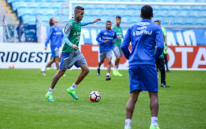 Luan Treino do Grêmio