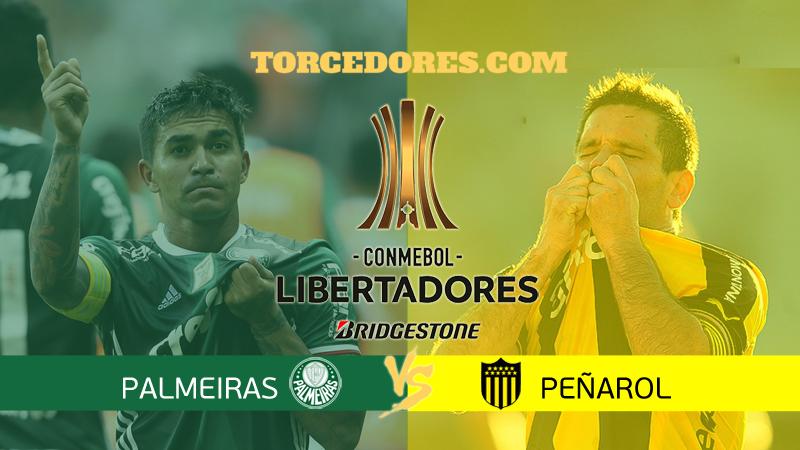 gols Palmeiras x Peñarol
