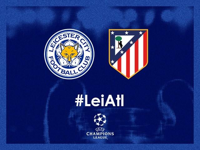 Leicester recebe Atlético de Madri para seguir na Liga dos Campeões