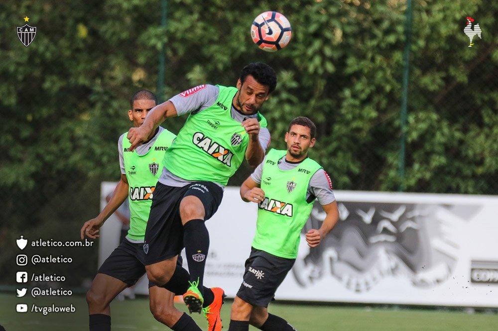 treino Atlético-MG