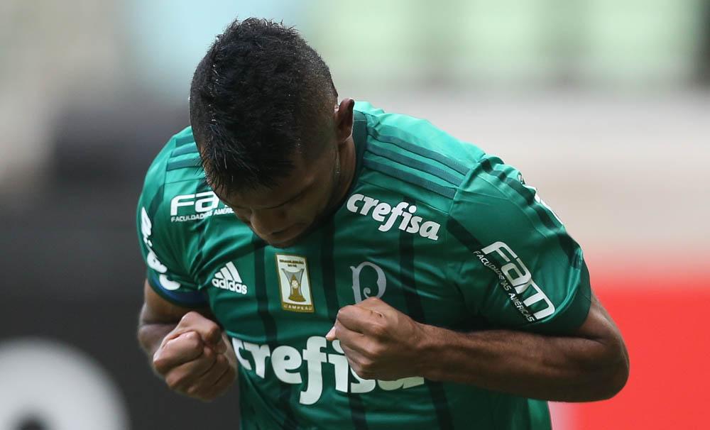 Comemoração Borja Palmeiras