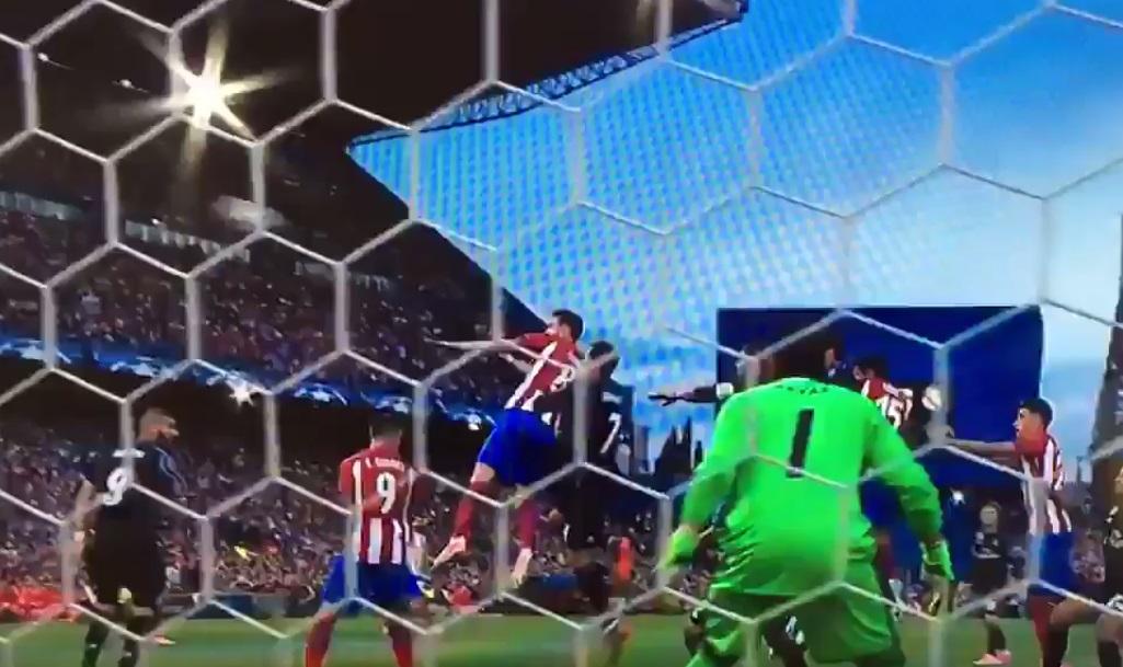 Atlético de Madrid x Real Madrid gols